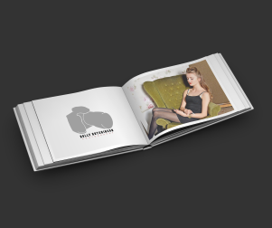 Holly Hutchinson Photography logo and Image book
